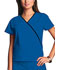Photograph of WW Originals Women's Mini Mock Wrap Top Blue 4800-ROYW