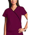 Photograph of WW Originals Women's Mini Mock Wrap Top Purple 4800-WINW