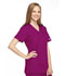 Photograph of WW Originals Women Mock Wrap Tunic Pink 4801-AZLW