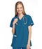 Photograph of WW Originals Women\'s Mock Wrap Tunic Blue 4801-CARW