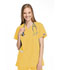 Photograph of WW Originals Women\'s Mock Wrap Tunic Yellow 4801-DANW