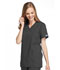 Photograph of WW Originals Women Mock Wrap Tunic Gray 4801-PWTW