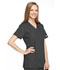 Photograph of WW Originals Women's Mock Wrap Tunic Gray 4801-PWTW