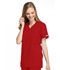 Photograph of WW Originals Women Mock Wrap Tunic Red 4801-REDW
