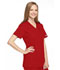 Photograph of WW Originals Women's Mock Wrap Tunic Red 4801-REDW