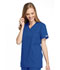 Photograph of WW Originals Women Mock Wrap Tunic Blue 4801-ROYW