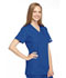 Photograph of WW Originals Women's Mock Wrap Tunic Blue 4801-ROYW