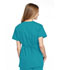Photograph of WW Originals Women's Mock Wrap Tunic Green 4801-TLBW