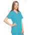 Photograph of WW Originals Women Mock Wrap Tunic Blue 4801-TRQW