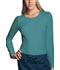 Photograph of WW Originals Women's Long Sleeve Underscrub Knit Tee Green 4818-TLBW
