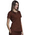 Photograph of WW Originals Women's Round Neck Top Brown 4824-CHCW