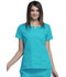 Photograph of WW Originals Women's Round Neck Top Blue 4824-TRQW