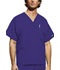 Photograph of WW Originals Unisex Unisex V-Neck Top Purple 4876-GRPW