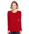 Photograph of WW Originals Women Long Sleeve Underscrub Knit Tee Red 4881-REDW