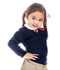 Photograph of Classroom Girl Girls Cardigan Sweater Blue 56422-DNVY
