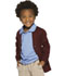 Photograph of Classroom Child's Unisex Youth Unisex Cardigan Sweater Purple 56432-BUR