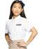 Photograph of Classroom Junior's Junior Short Sleeve Oxford White 57364-WHT