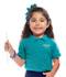 Photograph of Classroom Preschool Preschool Unisex SS Pique Polo Blue 58990-TEAL