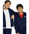 Photograph of Classroom Child's Unisex Unisex Zip-up Sweatshirt Blue 59222-DNVY