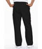 Photograph of EDS Signature Men Men's Zip Fly Pull-On Pant Black 81006-BLWZ
