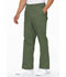 Photograph of EDS Signature Men Men's Zip Fly Pull-On Pant Green 81006-OLWZ