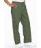 Photograph of EDS Signature Men's Men's Zip Fly Pull-On Pant Green 81006-OLWZ