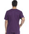 Photograph of Dickies Gen Flex Men's V-Neck Top in Eggplant