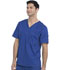 Photograph of Dickies Gen Flex Men's V-Neck Top in Galaxy Blue