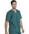 Photograph of Gen Flex Men Men's V-Neck Top Green 81722-HTRZ
