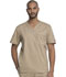 Photograph of Gen Flex Men's Men's V-Neck Top Khaki 81722-KHIZ