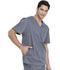Photograph of Dickies Gen Flex Men's V-Neck Top in Light Pewter