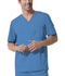 Photograph of Gen Flex Men's Men's V-Neck Top Blue 81722-RVBZ