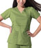 Photograph of Gen Flex Women's Mock Wrap Top Green 817355-DSGZ
