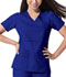 Photograph of Gen Flex Women's Mock Wrap Top Blue 817355-GBLZ