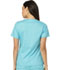 Photograph of Dickies Gen Flex Mock Wrap Top in Icy Turquoise