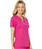 Photograph of Dickies Gen Flex Women's V-Neck Top Pink 817455-HPKZ