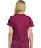 Photograph of Dickies Gen Flex Women's V-Neck Top Red 817455-MBRY