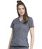 Photograph of Gen Flex Women's V-Neck Top Gray 817455-PEWZ
