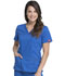 Photograph of Dickies Gen Flex Women's V-Neck Top Blue 817455-RYLZ