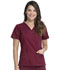 Photograph of Dickies Gen Flex Women's V-Neck Top Red 817455-WINZ