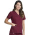 Photograph of Dickies Gen Flex V-Neck Top in D-Wine