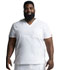 Photograph of Dickies EDS Signature Men's V-Neck Top in White