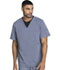 Photograph of Dickies Xtreme Stretch Men's V-Neck Top in Lt. Pewter