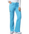 Photograph of Dickies Xtreme Stretch Women's Mid Rise Drawstring Cargo Pant Blue 82011-ITQZ