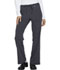 Photograph of Xtreme Stretch Women's Mid Rise Drawstring Cargo Pant Gray 82011-PWT