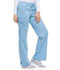 Photograph of Dickies Xtreme Stretch Women's Mid Rise Drawstring Cargo Pant Blue 82011-SKYZ