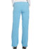 Photograph of Xtreme Stretch Women Mid Rise Drawstring Cargo Pant Blue 82011-TUBL