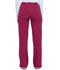 Photograph of Dickies Xtreme Stretch Mid Rise Drawstring Cargo Pant in Wild Cherry