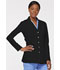 Photograph of Xtreme Stretch Women's 28 Snap Front Lab Coat Black 82400-BLKZ