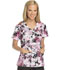 Photograph of Dickies Prints Women's Mock Wrap Top Be Spotted 82724-BTTD